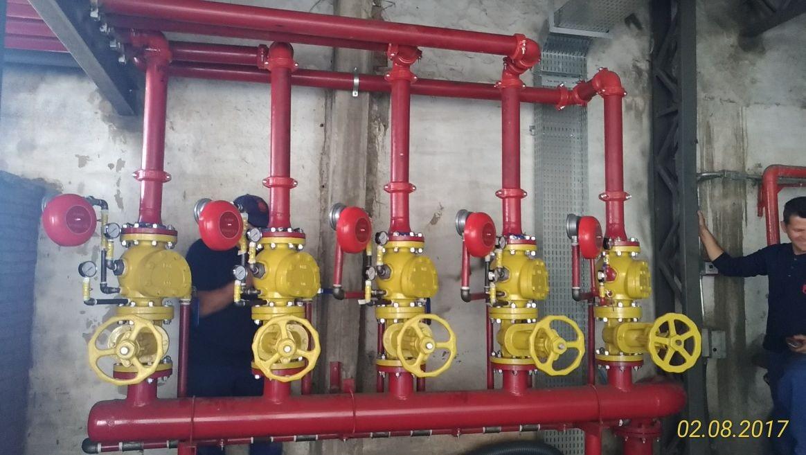 Empresa de engenharia contra incêndio