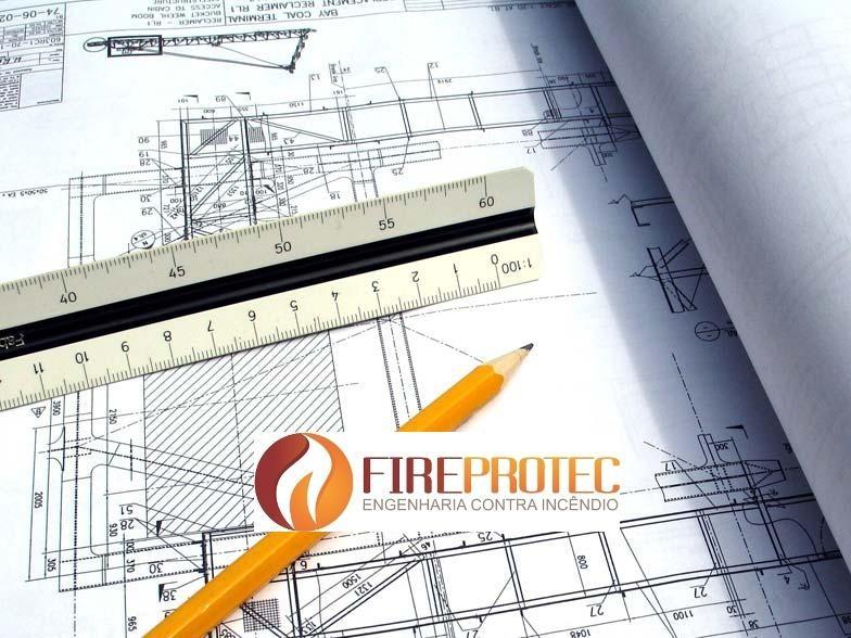 Projeto de prevenção de incêndio