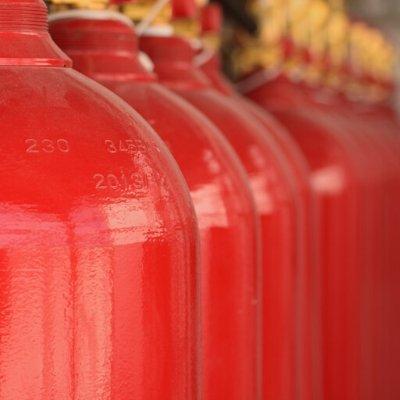 Sistema de Supressão por Gases